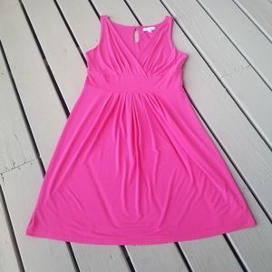 Lg pink sleeveless dress by Lucy and Laurel